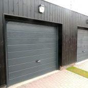 Секційні гаражні ворота Alutech Trend М-гофр