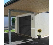 Секционные гаражные ворота ALUTECH TREND S-гофр 2500х2250 мм RAL7016 серый антрацит