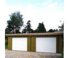 Секционные гаражные ворота Alutech Trend S-гофр