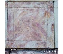 Тротуарная плитка шагрень 295x295x25 мм листопад