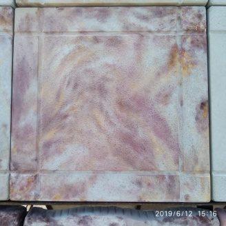 Тротуарна плитка шагрень 295x295x25 мм листопад
