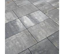 Тротуарна плитка Золотий Мандарин Моноліт 600х400х80 мм грейс