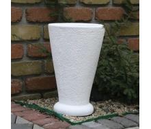 Бетонная ваза Золотой Мандарин Классик 400 мм белая