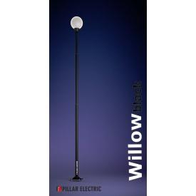 Металлический столб освещения Pillar Electric Віллов 100 Вт