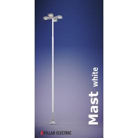 Металевий вуличний светильникй опора Pillar Electric Щогла 100 Вт