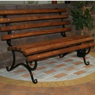 Тротуарная плитка Золотой Мандарин Меланж Кирпич 200х100х60 мм оранж