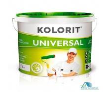 Краска фасадная матовая на акрилатной основе Kolorit Universal 10 л
