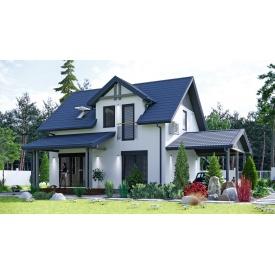 Будівництво дачного будинку за проектом Фюжин