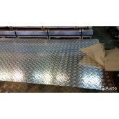 Лист алюминиевый рифлёный квинтет 2,5х1000х2000 мм марка 1050