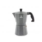 Гейзерна кавоварка VINZER Moka Granito 9 чашок (89399)