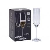 Набір келихів для шампанського KOOPMAN 180 мл 4 шт (SR3000020)