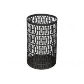 Підсвічник ATMOSPHERA металевий чорний у вигляді циллиндра 10x15,5 см (160005-2)