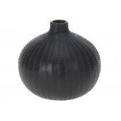 Ваза KOOPMAN чорна 14x13 см (AAA730560-1)