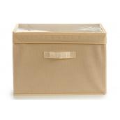 Ящик для зберігання ARTE REGAL нетканий бежевий 38x25x25 см (22009-2)