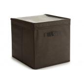 Ящик для зберігання ARTE REGAL нетканий темно-коричневий 31x31x31 см (22008-1)