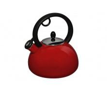 Емальований чайник зі свистком GRANCHIO Capriccio Rosso 2,5 л (88617)