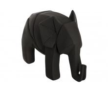 Статуетка ATMOSPHERA Elephant Origami 18,5x9,5x13 см (158336-black)