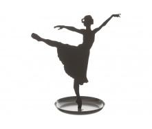 Статуетка ATMOSPHERA Ballerina 20x10x20 см (161340-gray)