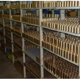 Втулка бронзовая БРАЖ 9-4 ОЦС 555 БРКМЦ БрО 10 1 мм
