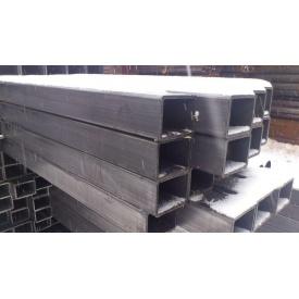 Труба профильная бесшовная сталь ст 20 120х80х6 мм горячекатанная