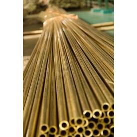 Труба латунная Л63 8х2,0х3000 мм полутвердый