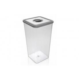 Контейнер для хранения продуктов NEOFLAM квадратный пластиковый 4600 мл (891401)