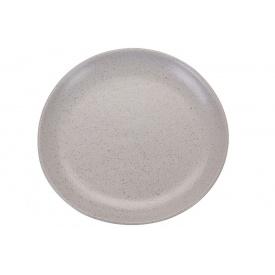 Тарелка KOOPMAN 21 см матово-белая (DN1000840-W)