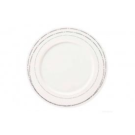 Тарелка десертная ASA A table Argent с ободком (15141313)