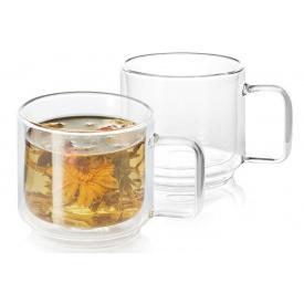 Набор DUKA Sven double wall из двух чашек для кофе и чая 350 мл (1217081)