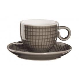 Чашка для еспрессо з блюдцем ASA Voyage 80 мл (15011312)