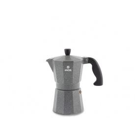 Кофеварка гейзерная VINZER Moka Granito 3 чашки (89397)