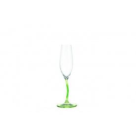 Бокал для шампанского LEONARDO Modella зеленый 215 мл (78797)