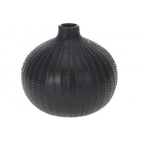 Ваза KOOPMAN черная 14x13 см (AAA730560-1)