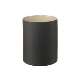 Ваза ASA Noma для цветов темно-серая 15,5х19 см 2592242