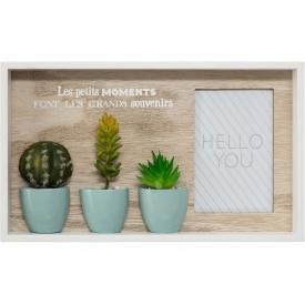 Фоторамка на подставке ATMOSPHERA Cactus 34х3,5x20 см (162321)