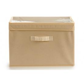 Ящик для хранения ARTE REGAL нетканный бежевый 38x25x25 см (22009-2)