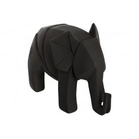 Статуэтка ATMOSPHERA Elephant Origami 18,5x9,5x13 см (158336-black)