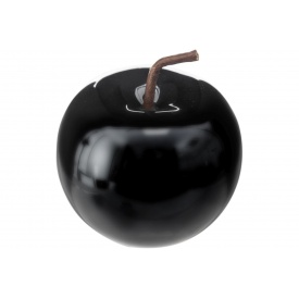 Декоративное яблоко ATMOSPHERA черное 8x7x8 см (158081A-black)