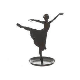 Cтатуэтка ATMOSPHERA Ballerina 20x10x20 см (161340-gray)