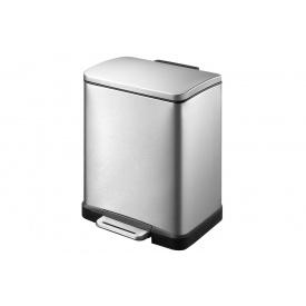 Ведро для мусора EKO E-cube прямоугольное с педалью 20л (EK9268MT-20L)