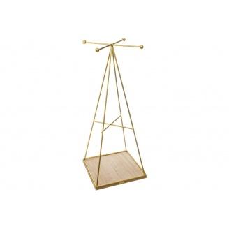 Підставка для прикрас ATMOSPHERA 12х12х30 см (161335-gold)