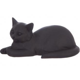 Статуетка ATMOSPHERA Cat чорна 18x9x9 см (148420)