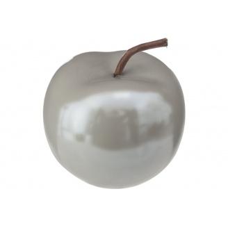 Декоративне яблуко ATMOSPHERA сіре 8x7x8 см (158081A-gray)