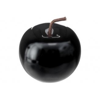 Декоративне яблуко ATMOSPHERA чорне 8x7x8 см (158081A-black)