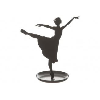 Статуетка ATMOSPHERA Ballerina 20x10x20 см (161340-black)
