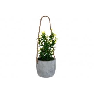 Штучні квіти ATMOSPHERA у бетонній підвісній горщику 10 см (145046-3)