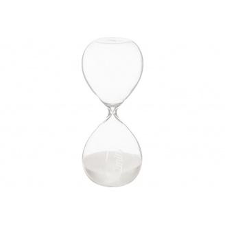 Годинник пісочний ATMOSPHERA білі на 30 хвилин 8,5x8,5x20 см (150677-white)