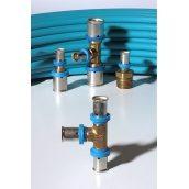 Прес-муфта редукційний 20х10 для труби PERT 10 мм Теплі стіни