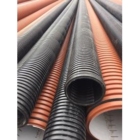 Труба канализационная гофрированная PipeLife PRAGMA 110 мм 6 м