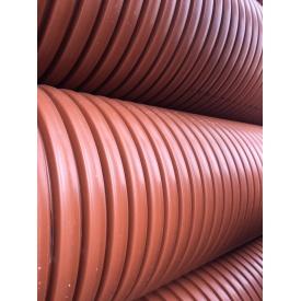 Труба канализационная гофрированная диаметр 315 мм 6 м